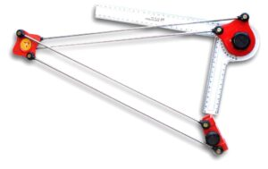 Mini drafter scale set, one of the architecture tools